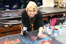 carole waller in studio web small