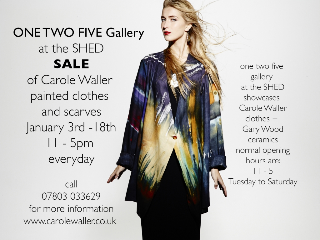 one two five gallery Sale ad for web
