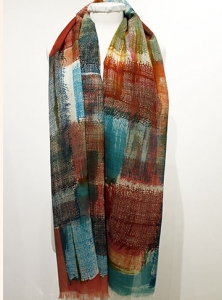 wool gauze scarf 3
