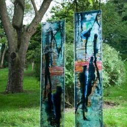 Two Glass Panels, Bath UK