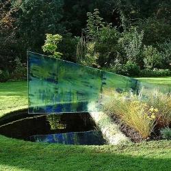 Glass Installation in Garden, Warwickshire UK