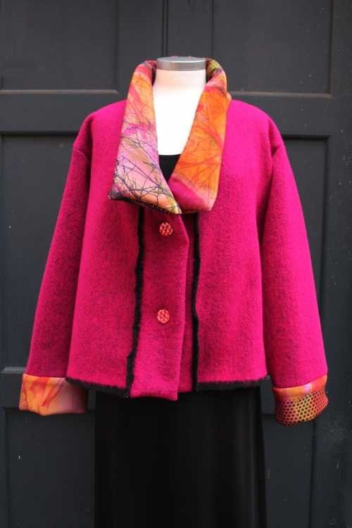 pink wool jacket web