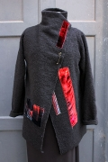 wool jacket closed web