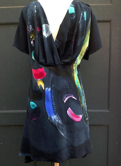 warren's dress back