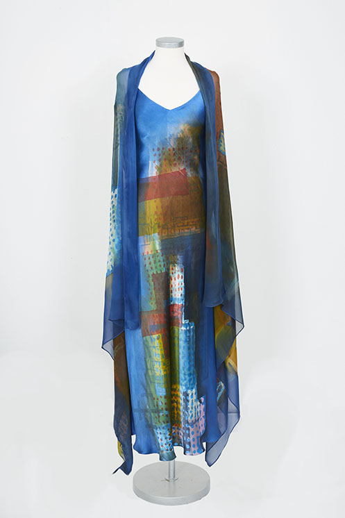 blue shawl and dress 2 low