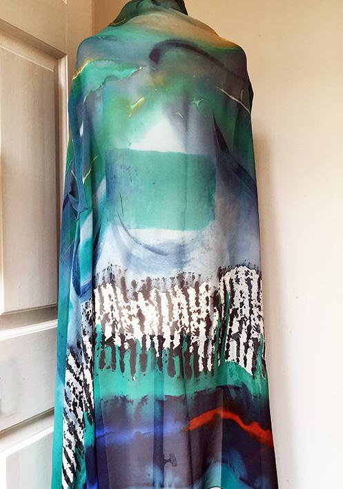 armhole shawl back web
