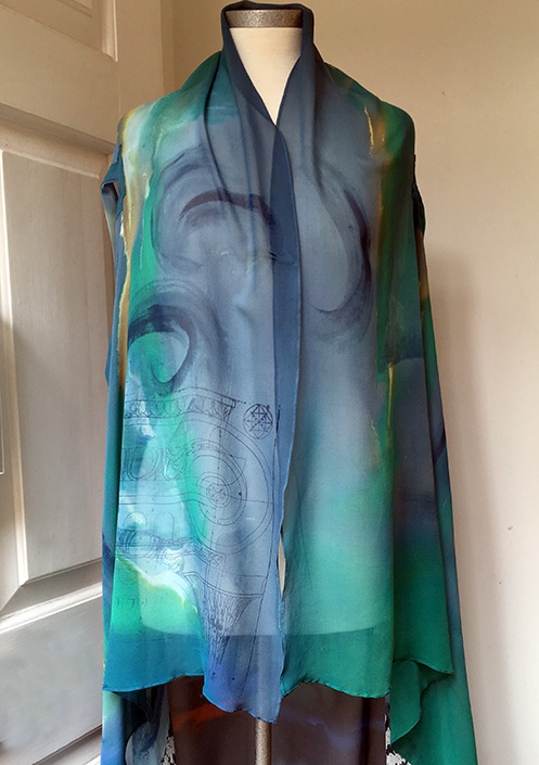 armhole shawl web
