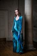 blue strappy dress web