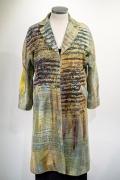 herringbone coat gold 425